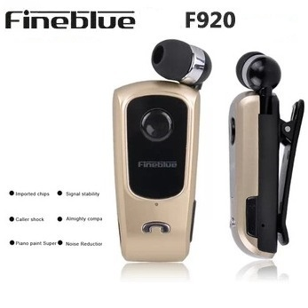 Original Brand Wireless Bluetooth Headphone FineBlue F920 Calls Remind Vibration Wear Clip Headset iPhone Samsung HTC - Shenzhen commerce Electronics store