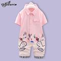 New Baby Boys Brand Clothing Sets Cartoon Character Thumbs Print Short Sleeved Shirt Shorts Kids Clothes