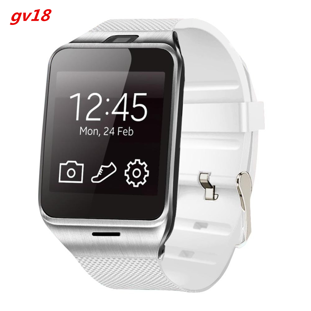 HOT selling GV18 Aplus smart watch phone NFC camera pedometer smartwatch 450mAh for android wristwatch phone(China (Mainland))