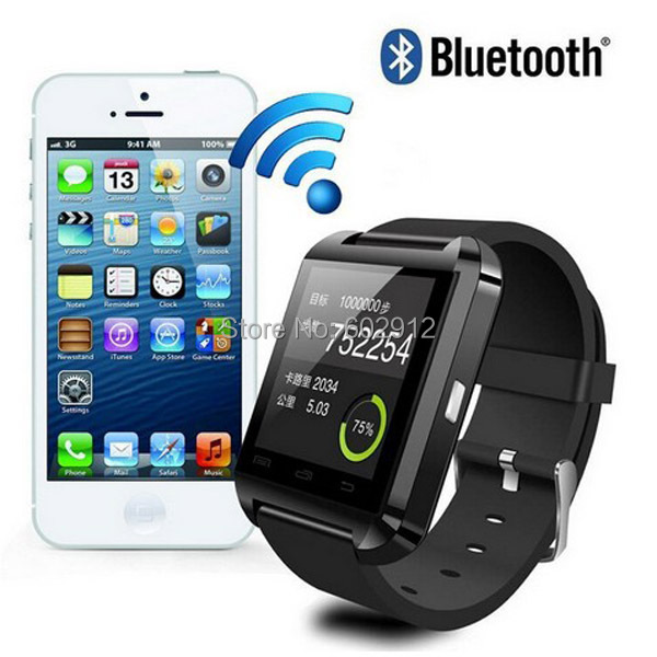 IOS and Android System Bluetooth Smart Watch Intelligent WristWatch Smartwatch Relogio Reloj with Touch Screen BT Remote Camera(China (Mainland))