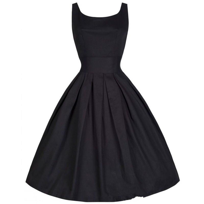 Audrey Hepburn Dress 2015 New Summer Style Women Vintage Swing Rockabilly Dress Retro 50s Dress 4 Color Audrey Hepburn Dress(China (Mainland))