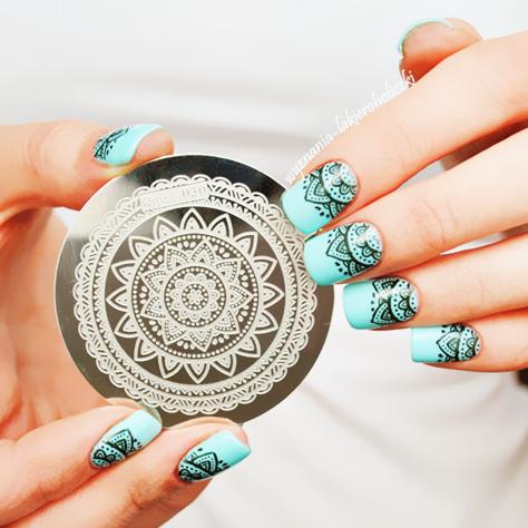 Гаджет  Full Flower Design Nail Art Stamp Template Image Plate Pattern #Qgirl-030  None Красота и здоровье