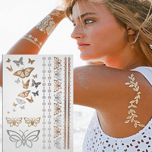 Flash temporary tattoos henna sticker 1pcs designs sexy products fashion body art fit women dress in party date ball daily life