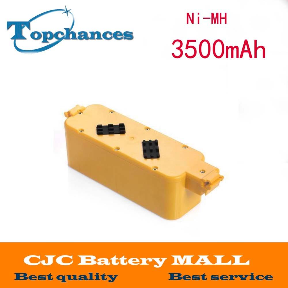 14.4V 3500mAh Ni-MH Battery For iRobot Roomba 400 405 410 415 416 418 4000 4105(China (Mainland))