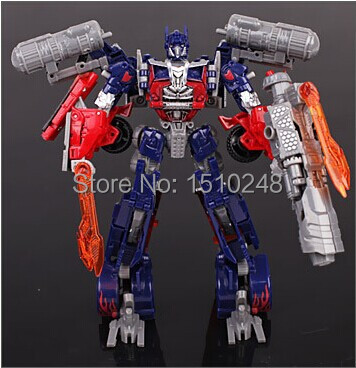 Free Shipping 2014 New Edition 27cm Robot Model Transformation Cars Robots Movie V Cool Change Class Robot Car Toy(China (Mainland))