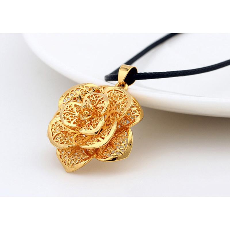 Romantic Heart Pendant Necklaces Jewelry 2014 New Trendy 18K Real Gold Plated Unique Design & Pendants Women - TOTO5857 store