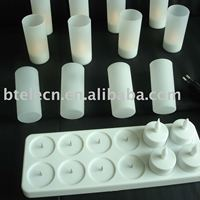 Rechargeable LED candle tea light free shipping