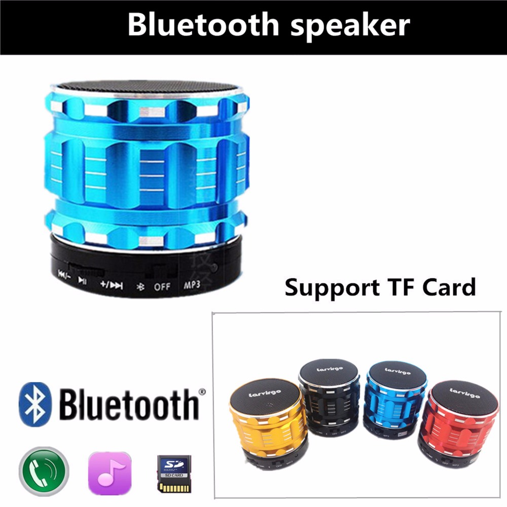 Wireless Bluetooth Speaker For Phone Notebook Portable Player MP3 Speaker with TF card USB FM radio Free Shipping(China (Mainland))