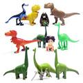 12pcs lot The Good Dinosaur PVC Action Figure Arlo Spot Henry Butch Mini Model Toy Cool