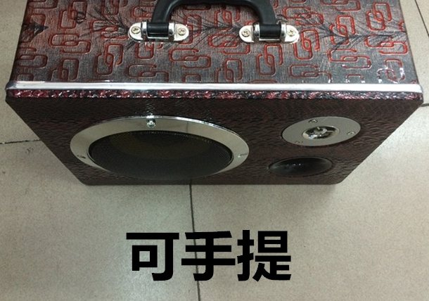 The new 6 -inch speaker sound box portable PC card car subwoofer amplifier overload(China (Mainland))