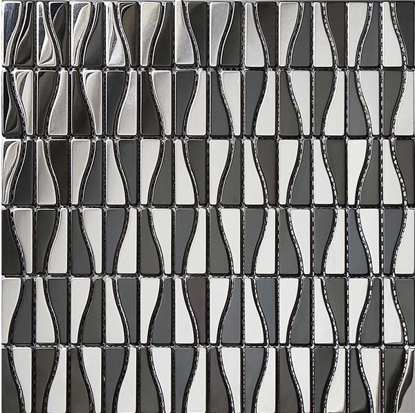 SA302,High quality metal mosaic, metal mosaic for wall