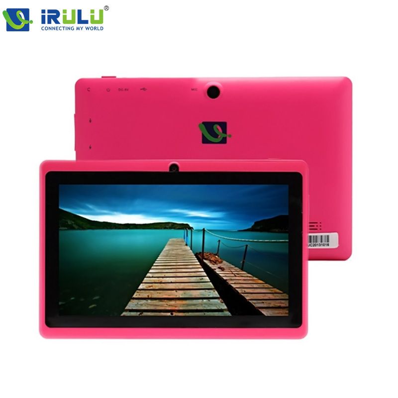 IRULU X1 7'' Android 4.4.2 Tablet PC 8GB ROM Quad Core Dual Cameras 3G External w/Keyboard Case WIFI High Quality 2015 Hot Sale(China (Mainland))