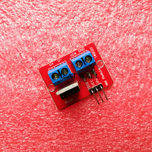Buy 5pcs 0-24V Top Mosfet Button IRF520 MOS Driver Module Arduino MCU ARM Raspberry pi for $2.70 in AliExpress store