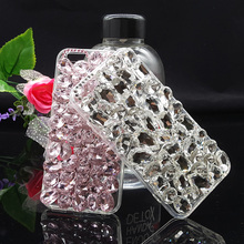 Buy Luxury 3D Crystal Rhinestone Bling Back Case iPhone 6 6S Plus iPhone6 DIY Cases iPhone 6Plus 6Splus Diamond Case Cover for $7.19 in AliExpress store