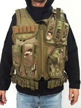 Free shipping Tactical Mesh Vest Camo Tactical Vest army combat uniform military tactical Law Enforcement Vest 5 Color(China (Mainland))