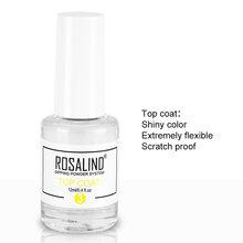 ROSALIND 10g Dipping Powder Nail Natural Color Holographic Glitter Nail Art Powder D101-124 No Need Lamp Cure(China)