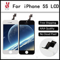 10PCS Grade A LCD For iPhone 5S LCD Display touch screen with digitizer assembly replacement parts