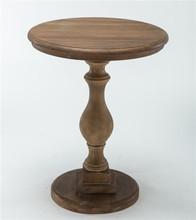 Твердая древесина маленький круглый стол американский диван столик Европейский минималистский круглый стол чай малый журнальный столик(China)