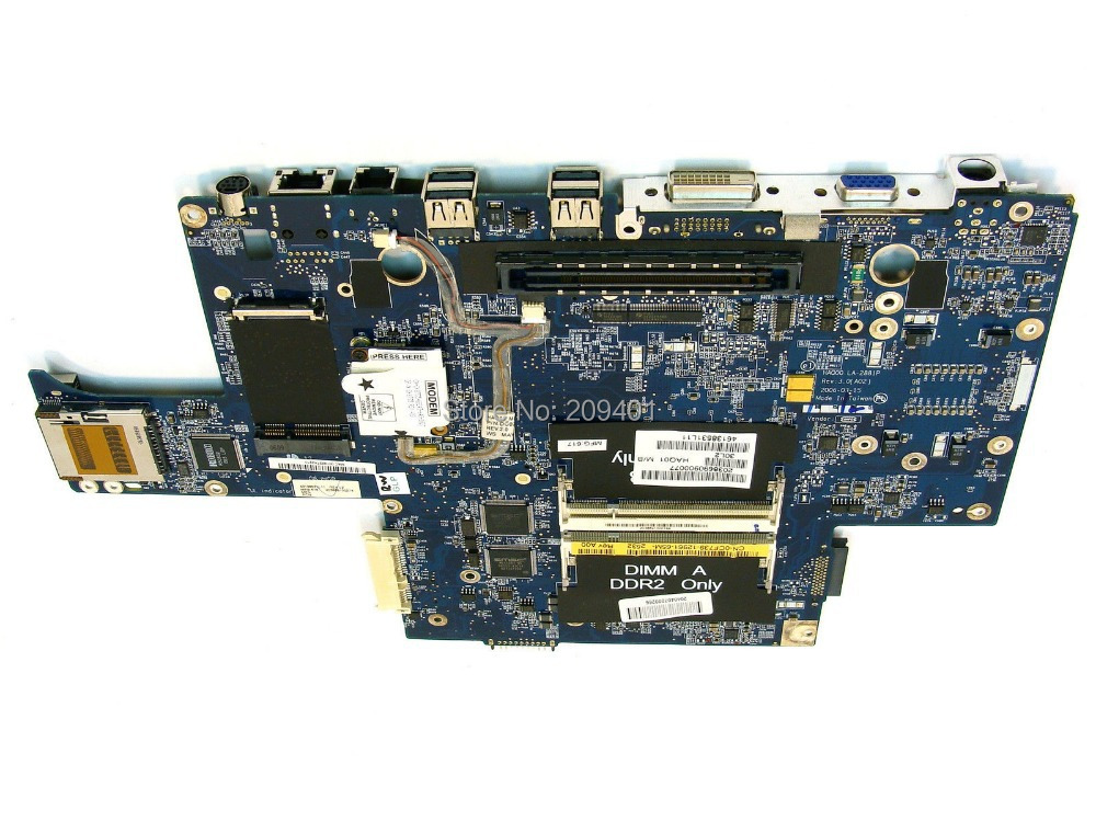 Free shipping For DELL XPS M1710 Laptop Motherboard Mainboard HAQOO LA-2881P Fully tested(China (Mainland))
