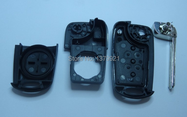 Flip Key Shell cover for KIA Sportage Seed Picanto 3 Buttons Remote Case Fob