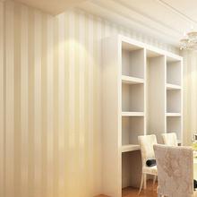 Wallpapers Gestreepte 3D Europese woonkamer behang slaapkamer sofa tv ...