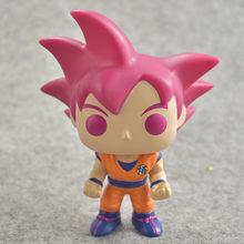 Funko pop De Dragon Ball Z GOKU Action Figure Boneca Coleção Toy Modelo para o presente de aniversário das crianças(China)