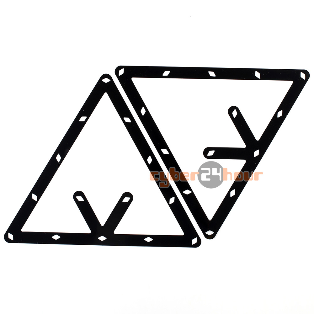 High Quality 6pcs 9 and 10 Ball Magic Rack Holder Billiard Table Pool Cue Accessory Black Free Shipping!(China (Mainland))