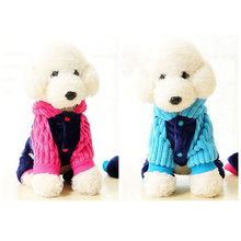 Buy 2017 Fashion Warm Fleece Pet Dog Clothing Dress love papa mama autumn winter dog clothes coat Jackets promotions for $5.49 in AliExpress store