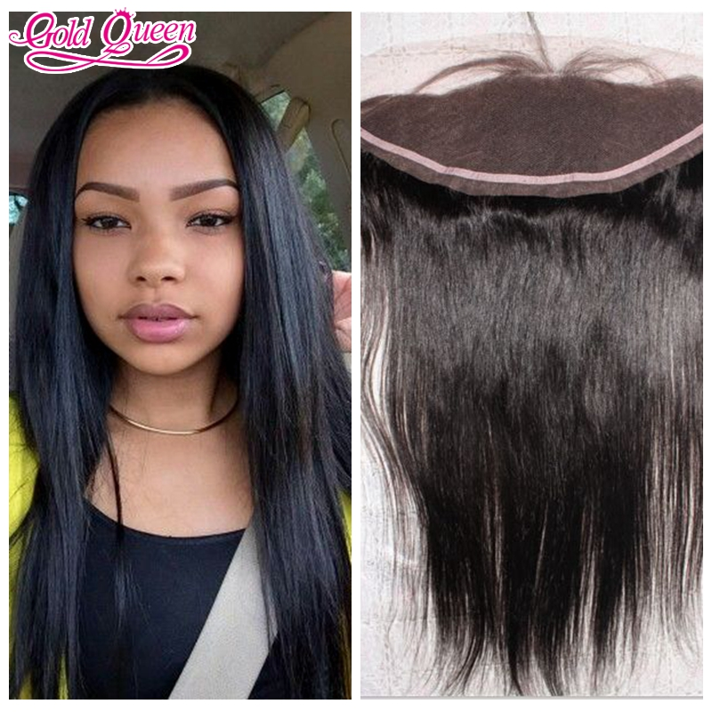 6A Brazilian straight Lace Frontal Closure With Baby Hair Bleached Knots 13x4 Virgin Human Hair Full Lace Frontal Hair 3part<br><br>Aliexpress