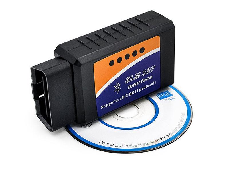 Wholesale ELM327 Bluetooth V1.5 OBD2 Car Diagnostic Tool OBDII Auto Scanning Tools Wireless Ios Car-Detector Diagnostic-Tool(China (Mainland))