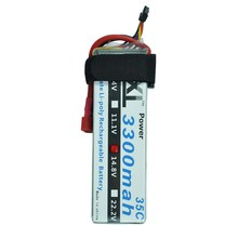 XXL High Power 4S 14.8V 3300MAH 35C MAX 70C 4S1P AKKU LiPo RC Battery For Trex 500 Helicopter