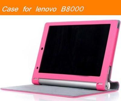 Lenovo B8000 case Folio protective Leather Case Screen Protector For brand lenovo yoga tablet 10 b8000' Tablet PC(China (Mainland))
