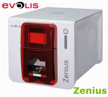 Evolis Zenius cards printer Composite PVC card printer ABS and special varnished card printer single sided