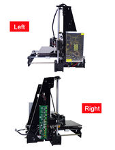 Afinibot Acrylic Frame LCD Screen Acquired Reprap Prusa i3 desktop 3D Printer Machine High Precision impressora