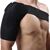 Adjustable Single Shoulder Guard Protection Back Football Badminton Sports Shoulder Pad