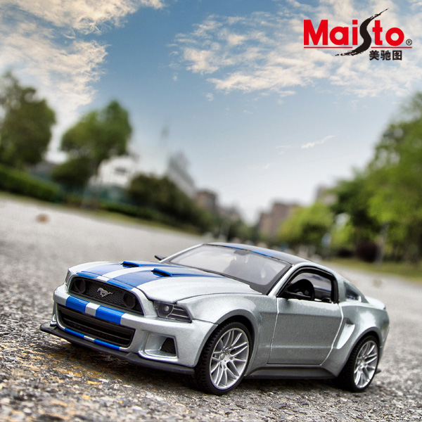 Free Shipping Need for Speed Mustang GT Alloy Cars Models Metal Car For Collection Car Lovers Diecast 1:24 Nice Mustang Models(China (Mainland))
