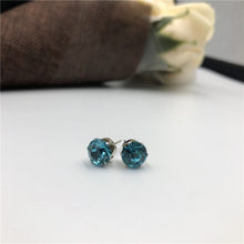 2019 neue marke schmuck luxus Österreichischen kristall ohrringe Stud Ohrringe für Frauen Weibliche Gold Bijoux Schmuck(China)