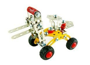 HOTTEST magical models DIY alloy warehouse fork lift truck kid's gift christmas present toys