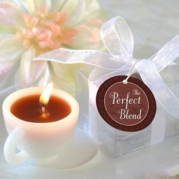 Ls4g свадебные украшения чашки кофе свадебного мероприятия годовщину брака Tealight обету подсвечник