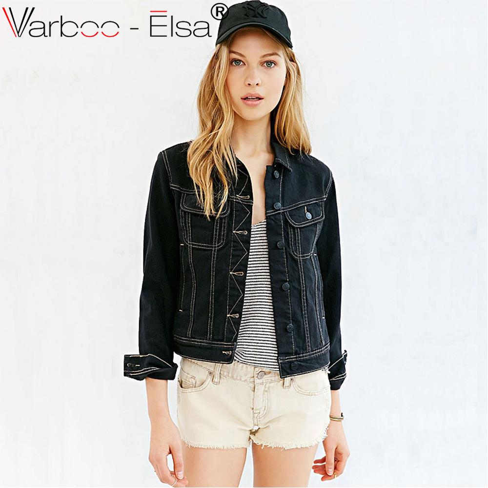 Black Jean Jacket Promotion-Shop for Promotional Black Jean Jacket ...