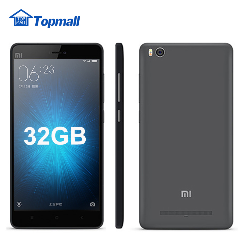 Original Xiaomi Mi4c mi 4c cell phone Prime Qualomm Snapdragon 3GB RAM 32GB ROM 3080mAh google play(China (Mainland))