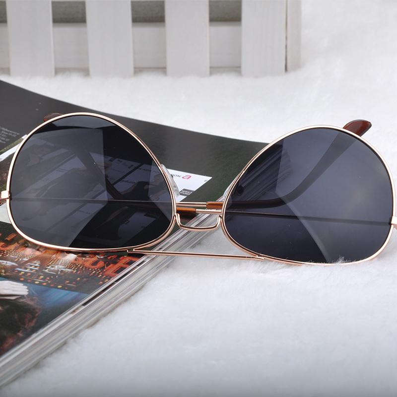 Женщины закрытые авиатор de sol винтажный солнечные очки металл рама очки очки бита зеркало