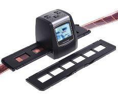 "5Mp Sensor 2.4"" LCD Display Digital 35mm Film Scanner Converter Negative USB Developer with SD Card Slot, Driver Free(China (Mainland))"