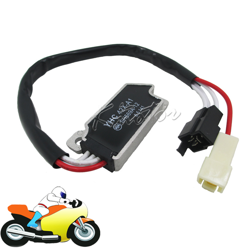 Motorcycle Motorbike Voltage Rectifier Regulator Yamaha XV535 XV400 XV700 XV750 XV 1100 VIRAGO VMX1200 VMX 1200 V-MAX - M-motor Co.,Ltd store