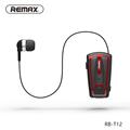 Original Remax stereo mini fashion headphone Wireless Clip Retractable Bluetooth 4 0 Earphone For iPhone 6S