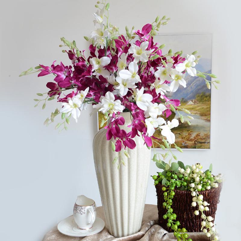 10pcs Small Cattleya Brief High Fashion Artificial Flower