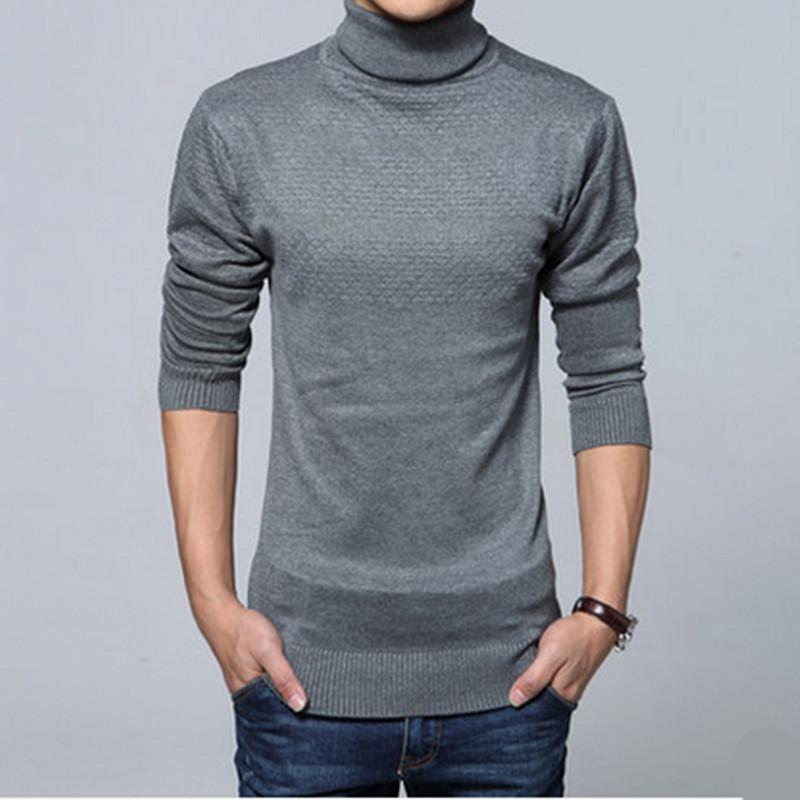 Sweater High Collar High Collar Sweater Men