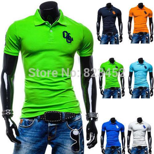 2015 New Brand Men's Polo Shirt For Men Desigual  T-shirt Men Cotton Short Sleeve shirt sports jerseys golf tennis Size M-XXL(China (Mainland))