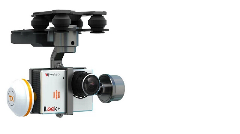 Free Shipping!Walkera G-3D 3 Axis Brushless Camera Gimbal Gopro For QR X350 Pro / Tali H500 Support iLook + Gopro Hero 3