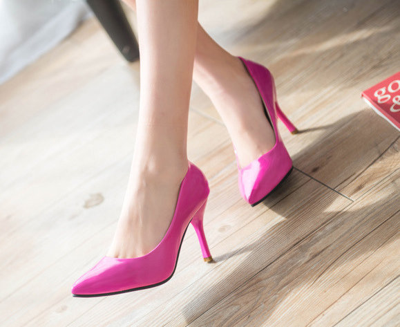 2016 New Fashion High Heels Pumps Sexy Bride Women shoes Thin Heel Pointed Toe High Heels Shoes women(China (Mainland))